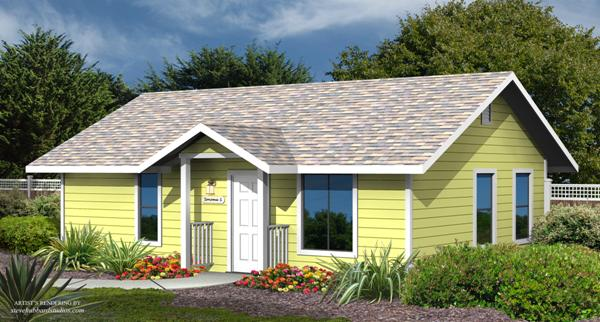 pacific modern homes Sonoma floor plan with siding options