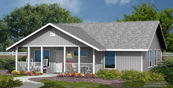 pmhi newport home design with LP Panel vertical groove or board and batten