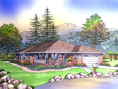 PMHI Mendocino home framing kit package, plans and price